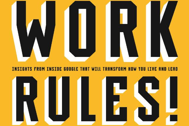 【書評】ワーク・ルールズ!―君の生き方とリーダーシップを変える
