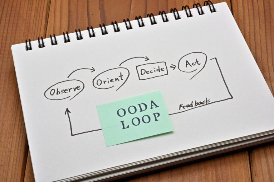 OODAループとは?PDCAサイクルとの違いやOODAが注目される理由を徹底解説!